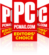 PC Mag Editor's Choice 6 years in a row